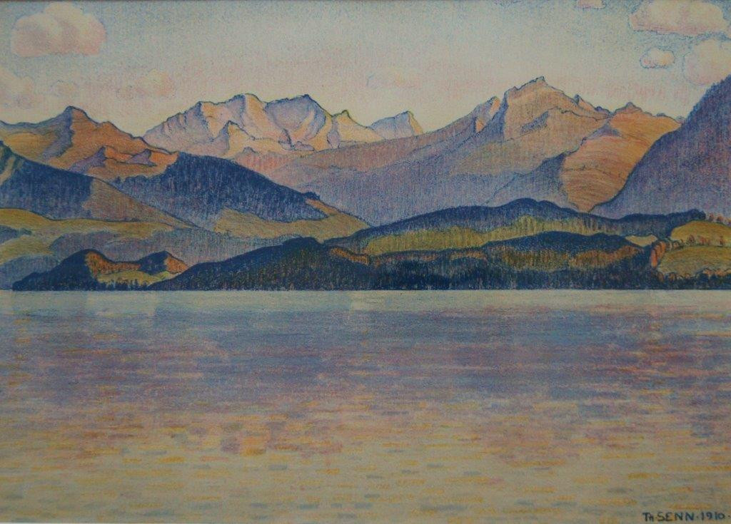 Am Thunersee, 1910